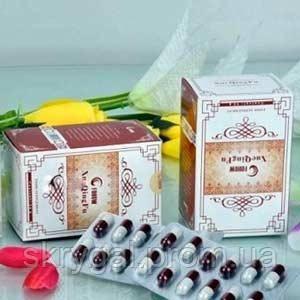 Капсулы «Сюэчинфу» ( чистые сосуды ) Укрепление сосудов 120 капсул по 250 мг.