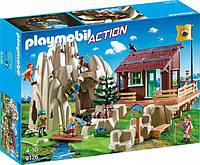 Конструктор Playmobil Скала со скалолазами и хижиной (9126)