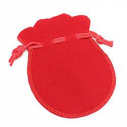 Красный 70*90 мм бархат