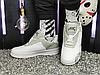 Мужские кроссовки Nike Air Force 1 Low A Cold Wall White Light Grey BQ6924-100, фото 6
