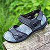 Босоножки сандалии мужские кожаные черные (код 787) - босоніжки сандалі чоловічі шкіряні літні чорні