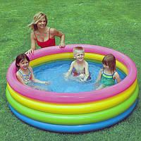 Детский надувной Бассейн Intex 56441 NP Радуга, объём 780 л