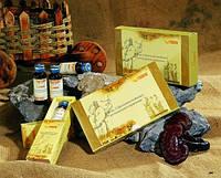 Эликсир «Три драгоценности Феникс» в коробке 4 флакона.Гепатиты В,С.Сахарный диабет по 30 мл.