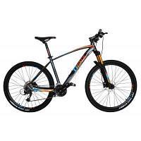 """Велосипед Trinx B700 27.5""""х18"""" Matt-Gray-Orange-Black (10030029)"""