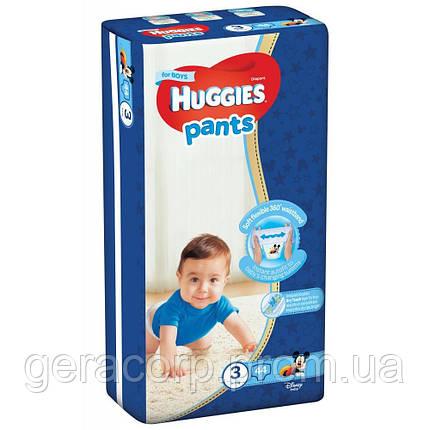 Huggies pants 3/44 для мальчиков, фото 2
