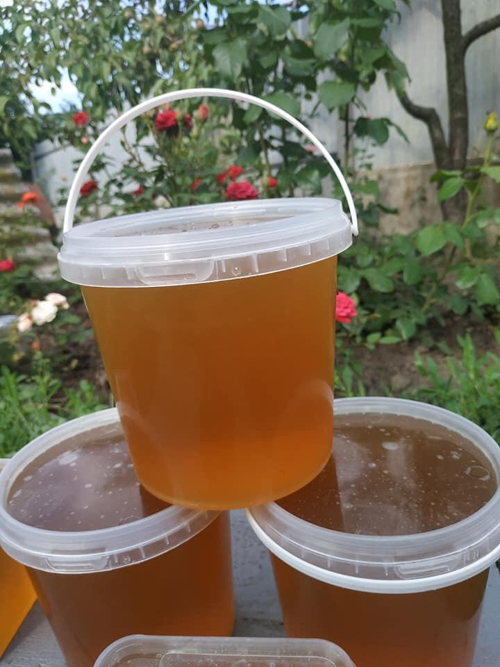 Мед майский+разнотравье, своя пасека