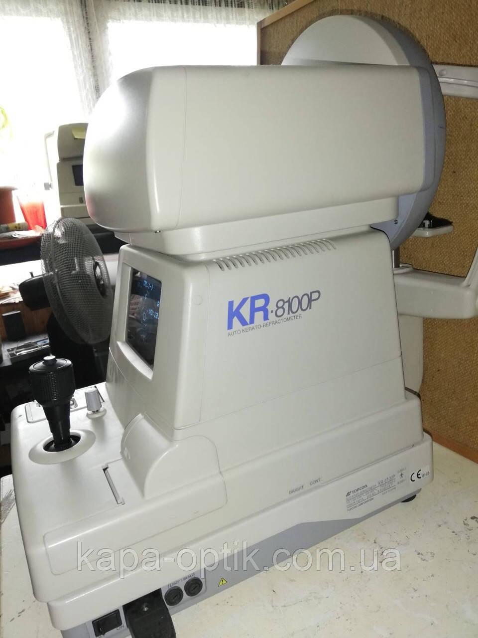 Авторефкератометр TOPCON KR-8100P