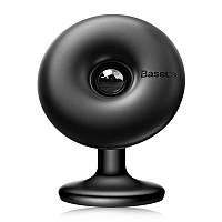 Автодержатель для телефона Baseus Star Ring Magnetic Car Bracket Paste type Black, фото 1