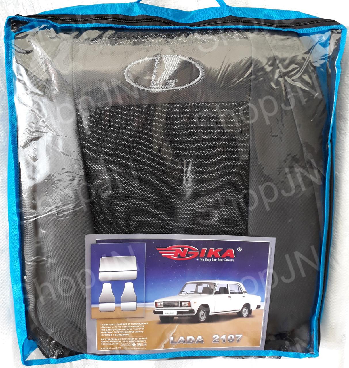 Авто чехлы Lada 2107 COPER Nika