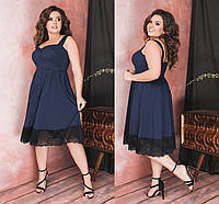 Красивое платье Батал Моника, фото 1