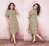 Женское платье Батал Leona, фото 1