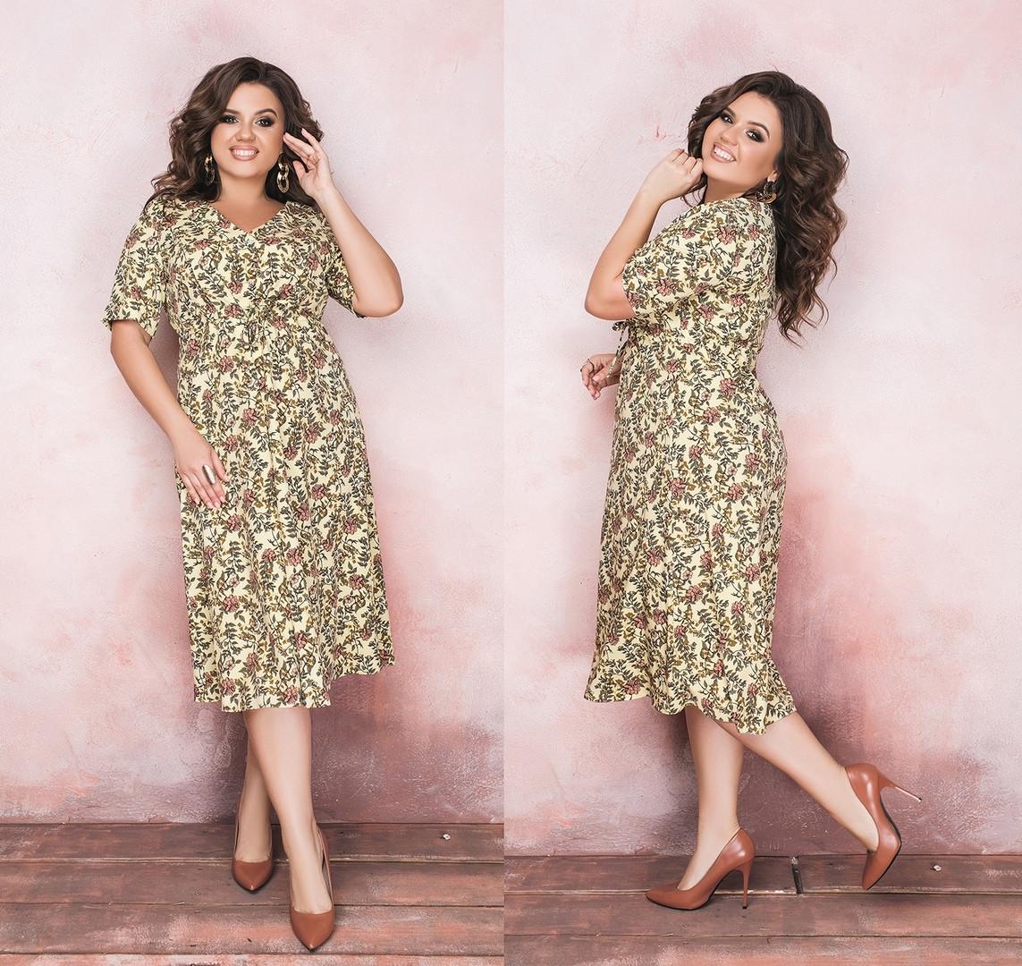 Женское платье Батал Leona