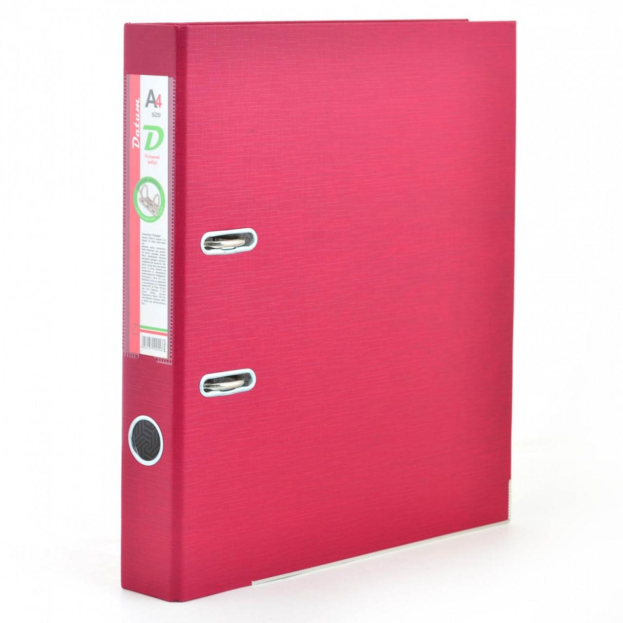 Сегрегатор (папка - регистратор)  А4/5см темно-красный D2260-15 (сборной)