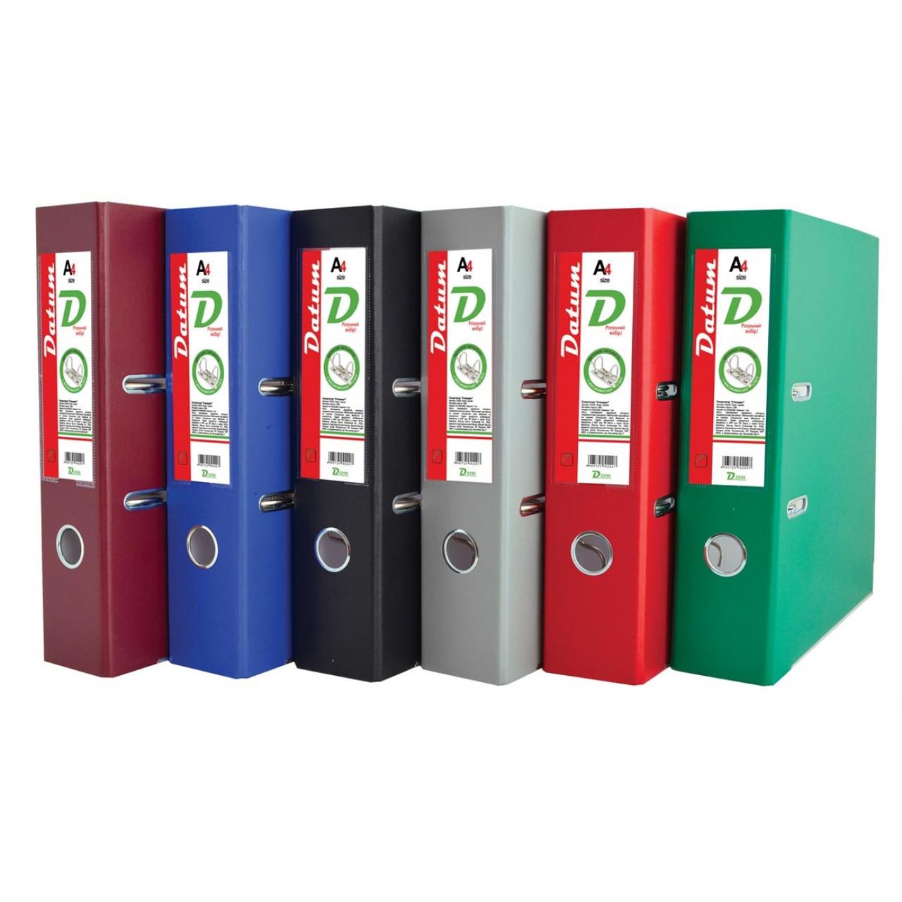 Сегрегатор (папка - регистратор)  А4/7 см серый D2231 (сборной)