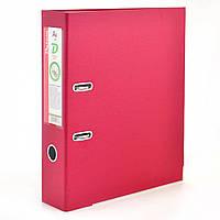 Сегрегатор (папка - регистратор)  А4/7см темно-красный D2270-15 (сборной), фото 1