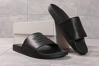 Шлепанцы мужские Levi's, черные (16332) размеры в наличии ► [  40 41 42 43 44 45  ], фото 1