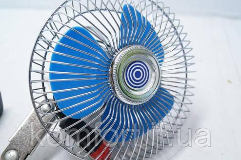 Автомобильный вентилятор 12V, фото 2