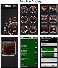 Диагностический сканер адаптер ELM327 Bluetooth Advanced, фото 3