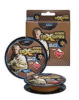Шнур Energofish Koos X12 Hollow Spin Braid Teflon Coated Brown 150 м 0.36 мм 49.7 кг + игла (3039608