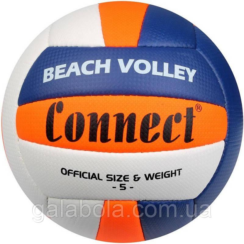 М'яч для пляжного волейболу CONNECT BEACHVOLLEY (розмір 5)