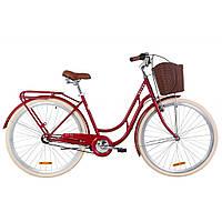 "Велосипед Dorozhnik 28"" RETRO PH 2019 (рубиновый) (OPS-D-28-146)"