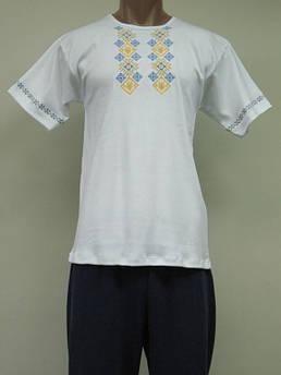 Мужская вышиванка - футболка Тарас