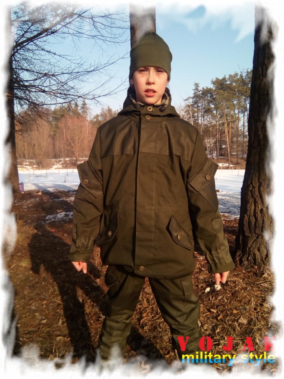 """Костюм детский горный """"Горка-3"""",ОЛИВА"""