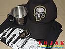 Комплект подарочный Punisher (бейсболка, футболка, зажигалка, чашка)., фото 2