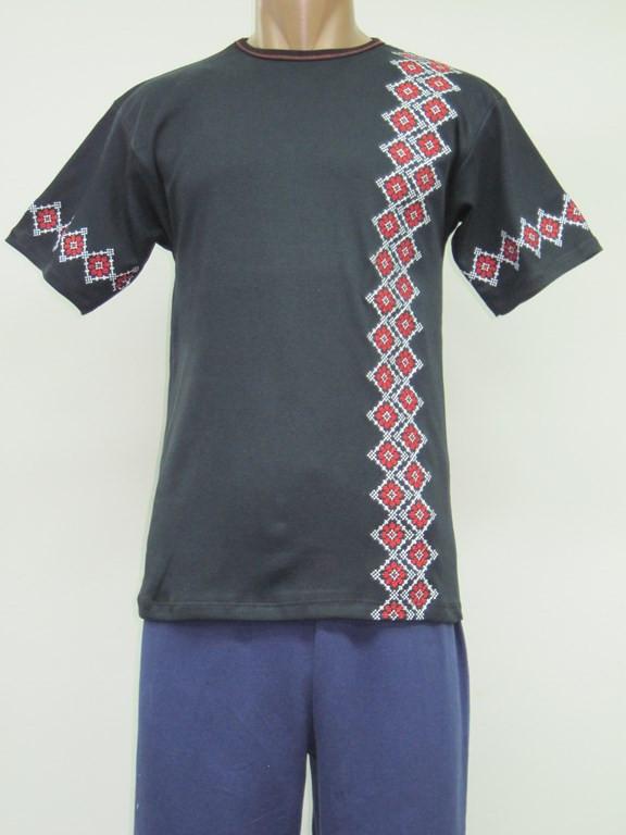 Футболка - вышиванка мужская Украинский Узор