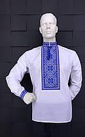 Мужская вышитая рубашка Код м712