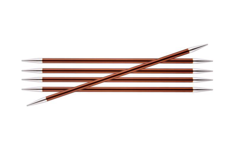 Спицы носочные  5.5 мм- 20 см Zing KnitPro