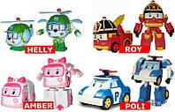 Набор трансформеров Robocar Poli Поли, Рой, Эмбер, Хелли