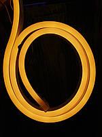 Светодиодная лента гибкий НЕОН тепл. 220V 8*17мм