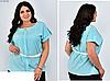 Річна блузка біла, з 50-60 розмір