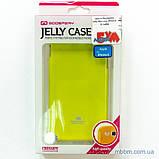 Чохол Goospery Jelly Mercury iPhone 6 лайм, фото 2