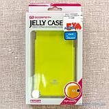 Чохол Goospery Jelly Mercury iPhone 6 лайм, фото 7