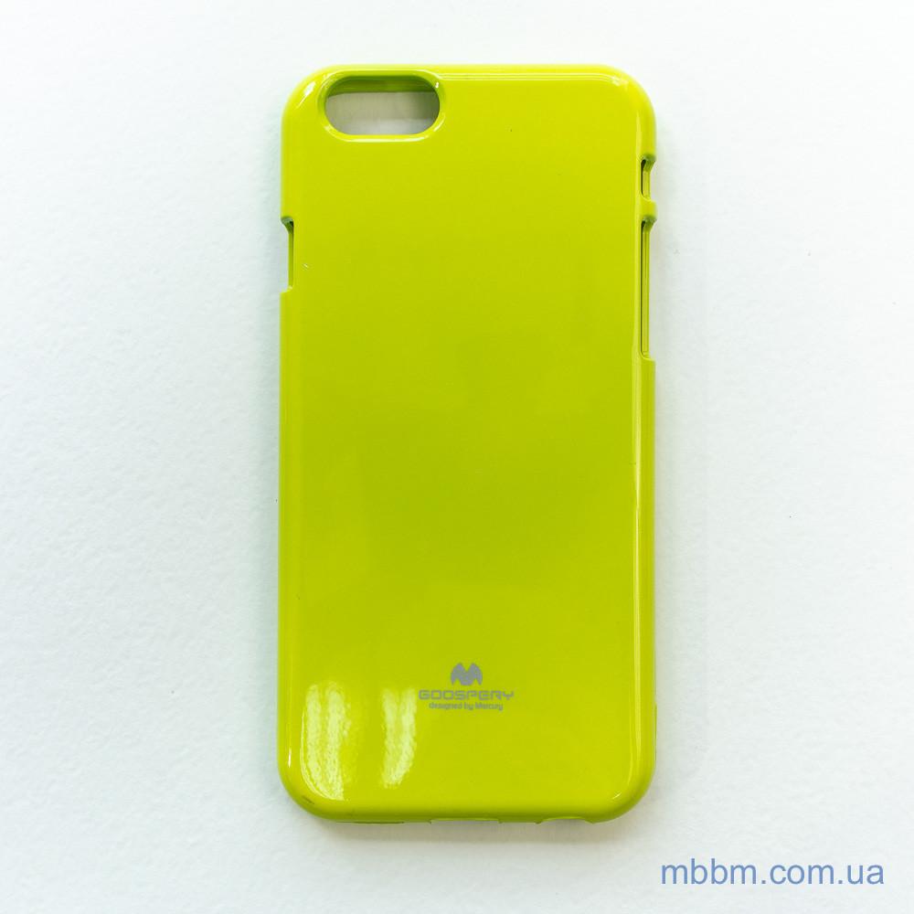 Чохол Goospery Jelly Mercury iPhone 6 лайм