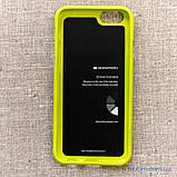 Чохол Goospery Jelly Mercury iPhone 6 лайм, фото 8