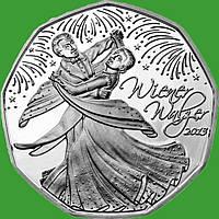 Австрія 5 євро 2013 р. Віденський вальс (срібло)