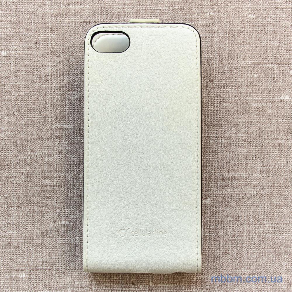 Cellular Line Flap Essential iPhone 5c white