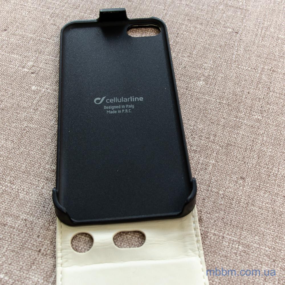 Cellular Line Flap Essential iPhone 5c white Apple 5C Для телефона