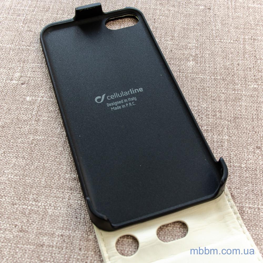 Cellular Line Flap Essential iPhone 5c white Apple 5C