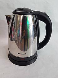 Електричний чайник дисковий 2л. Wimpex WX-2831