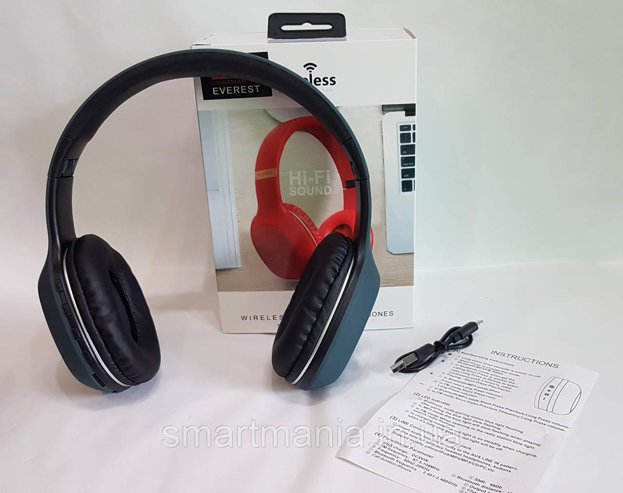 Беспроводные складные наушники JBL с аккумулятором, Bluetooth, MP3 и FM-приемником P951 реплика