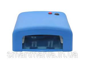 УФ лампа для маникюра ZH-818 36 Вт Синяя