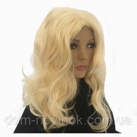 Перука Хвиля з проділом (блонд)