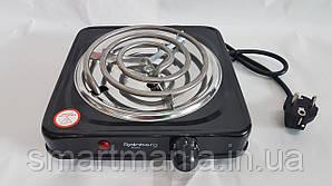 Электрическая плита одноконфорочная спиральная плита Rainberg Rb-555 электроплита 1200 W