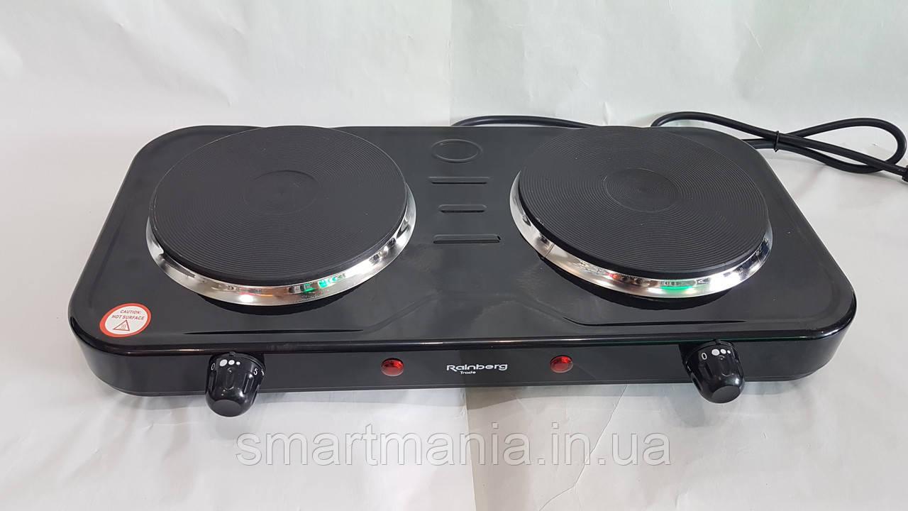 Електрична плита дискова плита Rainberg Rb-999 електроплита 2400 W
