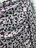 Двусторонняя портьерная ткань блэкаут, сиреневый