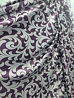 Двусторонняя портьерная ткань блэкаут, сиреневый, фото 1
